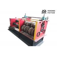 China Highway Guardrail Automatic Roll Forming Machines , Sheet Metal Crimping Machine on sale