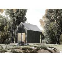 Buy cheap European standard wooden cabin chalet prefab light steel lodge house for resort from wholesalers