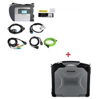 Cheap V2019  MB Star SD C4 Mercedes Benz Diagnostic Tool Plus Panasonic CF30 4G RAM Software Installed Ready to Use wholesale