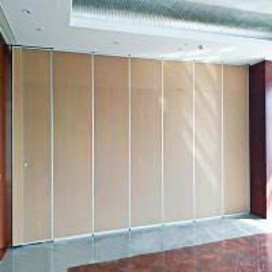Cheap Sound Proof Hanging System Aluminum Folding Sliding Doors for Restaurant wholesale