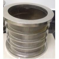 Cheap High-tech Pressure Screen Basket for Paper Pulping Machine wholesale