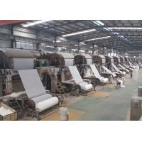 Cheap Small Capacity Tissue Paper Production Line , Living Paper Factory Machine wholesale