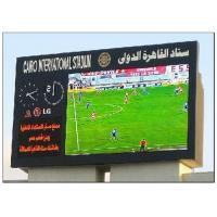 Cheap Mutil Color 8500 CD Brightness Football Stadium Screen , Commercial Panel Display Systems wholesale