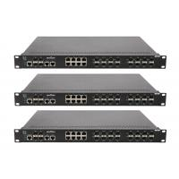 Cheap 16 megabit FX SFP ports ,8 megabit TX ports , 2 gigabit TX ports and 2 gigabit SFP ports network switch wholesale