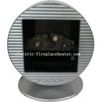 Cheap Energy Efficient Silver Freestanding Portable Electric Fireplace 1KW / 2KW For Living Room wholesale