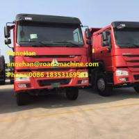 6x4 18M3 12.00R22.5 Model Tire Heavy Duty Dump Truck Customized HOWO brand  for Unloading building Materials