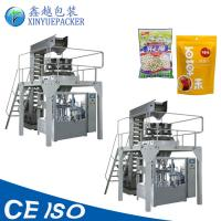 Cheap Reliable Rotary Pouch Packing Machine / Zipper Pouch Packing Machine For Granules wholesale