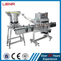 Cheap LIENM Factory automatic shampoo,liquid soap,detergent,high speed capping machine,Screw Capping Machine With Cap Sorting wholesale