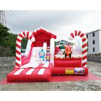 Buy cheap Winter Theme Inflatable Bounce House Slide Snowman Combo Jumpers ROHS EN71 from wholesalers
