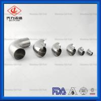 Cheap 304 Butt Welding Fittings  Stainless Steel Sanitary Type 45 Degree Welding  Elbows wholesale
