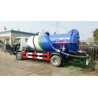 Cheap ISUZU vacuum tanker truck septik tank truck  Cesspool Emptying Truck CAPACITY 3000 UPTO 22000L wholesale