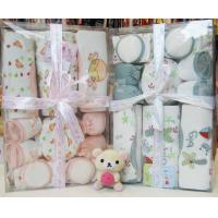 Cheap Beautiful Personalized New Born Baby Birth Gift Sets With Baby Suits wholesale
