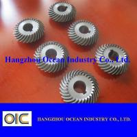 Cheap M0.5 M1 M1.5 M2 M2.5 Alloy Steel Micro Spiral Bevel Pinion Gear wholesale