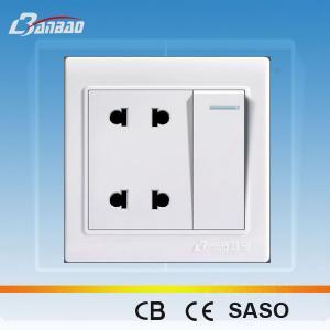 LK4048 4 pin 86 type wall electrical socket