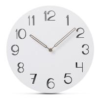Buy cheap Arabic Numerals Nordic Modern Wall Clock Wooden Living Room Decoration Wall from wholesalers