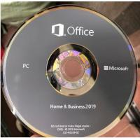Buy cheap Microsoft Office 2019 Ms Office Latest Version Home And Business HB Retail Box from wholesalers