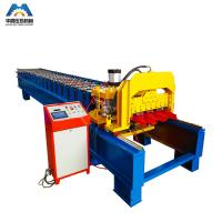 Cheap Color Steel Plate Aluminium Glazing Roofing Tile Forming Machine 18 Rows wholesale