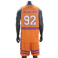 Cheap Trendy Sleeveless Basketball Sports Clothes Multi Color Quick Dry Breathable wholesale