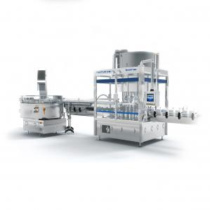 China Chemical Industry SS316L Semi Automatic Capping Machine on sale