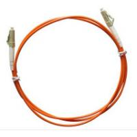 Cheap Multimode LC to LC Simplex Fiber Optic Patch Cord with 3.0mm Orange PVC Jacket wholesale