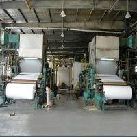 China Toilet tissue paper making machine on sale
