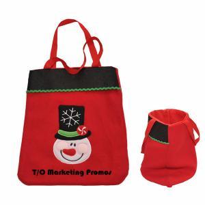 Cheap TOM104934 Christmas Tote Bag, non woven christmas bag, non woven tote wholesale
