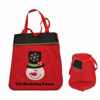 Buy cheap TOM104934 Christmas Tote Bag, non woven christmas bag, non woven tote from wholesalers