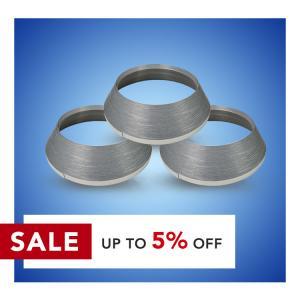 Cheap Silver Color 20mm Trim Cap J Type Acrylic Plastic Trim Cap wholesale