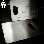 Cheap Metal Beer Bottle Opener Business Card ,  Poker Card Bottle Opener  Promotional wholesale