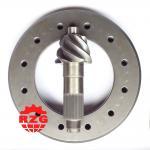 Cheap CA Jie Fang Rear Axle Transmission System Skew Bevel Gear , Gleason Spiral Bevel Gear wholesale