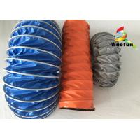 Waterproof Compressing High Temperature Flexible Duct PVC Small Bending Radius
