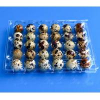 Quality Disposable plastic quail egg tray 30 holes quail egg tray plastic egg tray for quail eggs 30 slots for sale