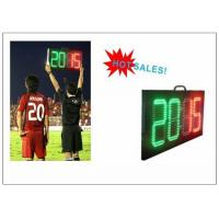 Cheap Digital Number 2 Color LED Soccer Substitution Board 2 Side IP62 Light Weight wholesale
