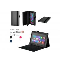 Cheap Black Holder Folio Leather Cases For Microsoft Surface Win8 RT Tablet PC wholesale