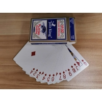 Cheap 57*87mm 62*87mm 310g Black Core Casino Poker Cards wholesale