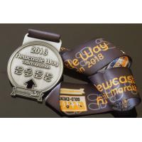 Buy cheap Trail Marathon Metal Award Medals Running And Racing Medallion With Ribbon from wholesalers