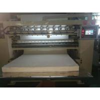Buy cheap V - Fold Facial Tissue Paper Folding Machine With Siemens PLC And Inverter from wholesalers