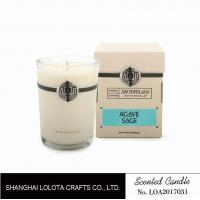 Cheap Southern Belle / Raspberry Fragrance Natural Scented Candle Chemical Free , Eliminating Odors wholesale