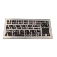 Buy cheap 116 Keys Washable Industrial Touchpad DeskTop Keyboard in IP68 Rated Waterproof from wholesalers