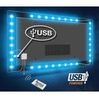Cheap USB TV SMD Flexible LED Strip Lights 5050 RGB 2 Years Warranty wholesale