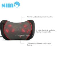 Cheap One Button Control Electric Massage Pillow Homedics 3d Shiatsu Massage Pillow With Heat wholesale