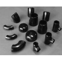 Cheap black elbow seamless pipe fittings factory direct sale wholesale