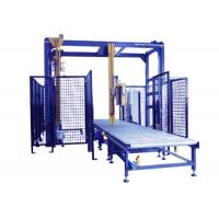 Cheap Remote Control Pallet Stretch Wrapping Machine , Automatic Stretch Wrapper With Top Seet Dispenser wholesale
