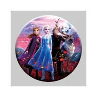 Buy cheap Decoration Gift 3D Lenticular Badges With Elsa And Anna Princess from wholesalers