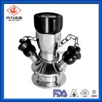 Cheap Manual Operated  Stainless Steel Sample Valve 150 Degrees Centigrade wholesale