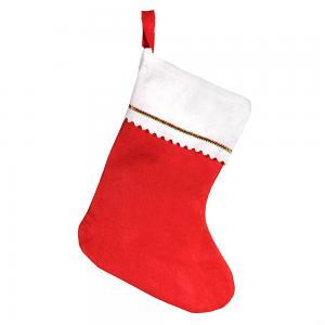 Cheap Red And White EN79 3MM Felt Christmas Sock Ornaments wholesale