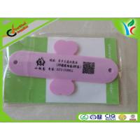 Cheap Engraved Printing Silicone Phone Stand Silicone Steel Shrapnel 3m Sticker wholesale