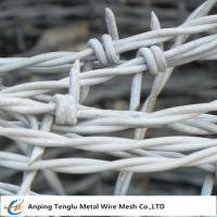 Cheap Barbed Wire| Made by Stainless Steel Wire Single and Double Ttwist Barb Wire wholesale