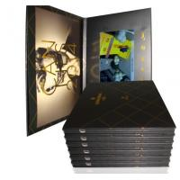 Hot sale hard cover versions available video brochure
