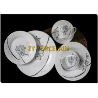 Cheap Size Costum 30 Piece Round Dinnerware Sets With Cup And Saucer For Home Usage wholesale